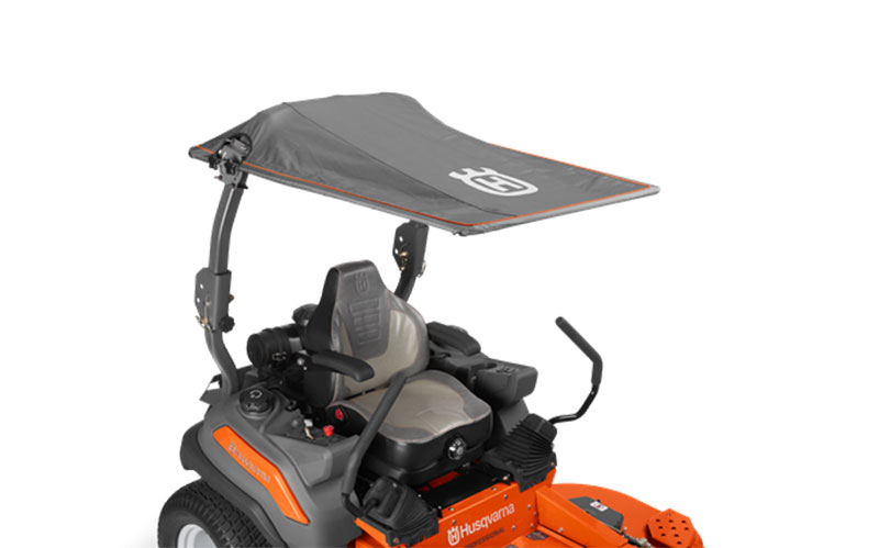 Zero Turn Mower Accessories : Husqvarna Zero Turn Sun Canopy